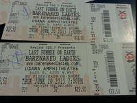 I have two tickets to Barenaked Ladies at USANA on June