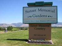 I have 2 burial plots located at Sunset Memorial