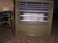 30,000 btu natural gas home (or shop) space heater. Six