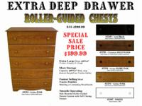 **BARGAIN** LARGE STORAGE 5 DRAWER CHEST - Assorted