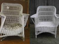 WICKER repair CANING-Restore (WickerWideWeb.com)  If