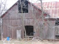 The St. Olaf (Iowa) Barn is a 32' x 32' rough sawn barn