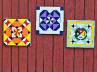 Barn Quilts 2x2 or 4x4/ $35 and $65/ over 4000 patterns
