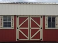12'x20' Side Lofted Barn storage shed, portable
