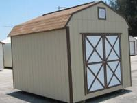 Many extra features: COUNTRY BARN (SPECIAL) 10' x 12'