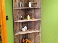 Corbett shelf made from old barn won. Really nice