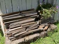 I have a pile of barn wood that I would like to sell.