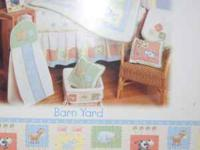 Barn Yard collection by KidsLine. Purchased from Babies