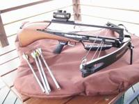 "Very nice condition Barnett a""Thunder Bolt""crossbow."