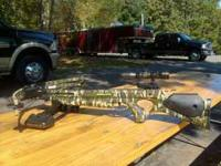 For Sale Barnett Revolution Crossbow 4x32 Scope Quiver