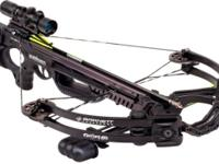 410 FPS; 185 LB. Draw Weight; Quiver, 3 Arrows, Rope