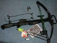 I am selling a barnett jackel crossbow for $250. This