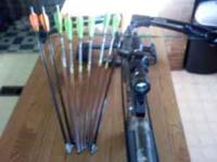 I have a branett quad 400 crossbow with a red dot scope