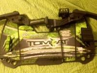 I have a Barnett Tomcat Youth Compound Bow for sale,