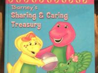 Barney's Sharing and Caring Treasury (2002, Hardcover)