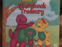 Barney's Storybook Treasury Book Distributed By: Lyrick