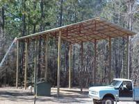 I build Barns, Equipment Sheds, Storage Buildings,