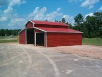 We will install this beautiful barn on your property