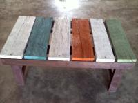 I build barnwood furniture from reclaimed barnwood.  I