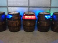 I have several Cocktail Barrel Arcade Game setups: