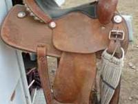 Barrel Racing Saddle. Great shape, nothing wrong with