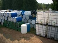 275 gallon water totes $50 each, 55 gallon metal and
