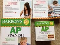 Barron's AP US Government and Politics  and Flashcards
