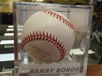 I have an authorized and validated authorized baseball