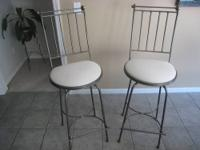 2-CHARLESTON FORGE BARSTOOLS. $70.00 EACH MODEL C830