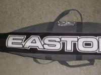 Easton cloth baseball bag, 36 long, 3 straps, metal