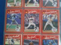 Bo Jackson-All Star Dave Justice Julio Franco-All Star
