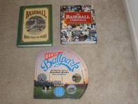 Trio of baseball books. Great books for baseball