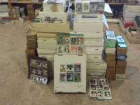 Over 50K baseball cards from 1980 through 2010