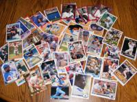 I have a bunch of pretty good cards, Roger Clemens,