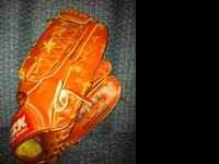 I have a Baseball Glove for sale. It's in excellent