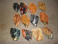 Baseball Glove Sizes - All Gloves Fit on the Left Hand