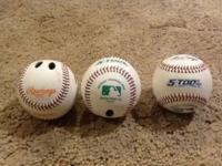 All three pitching training baseballs for $10. The