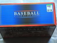 Baseball, A Film By Ken Burns on VHS. Like New, Only