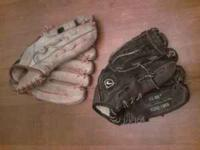 Nike and Franklin baseball gloves. $5 a piece. Call