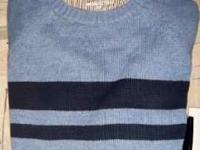 I HAVE FOR SALE A BLUE ON BLUE BASIC EDITIONS SWEATER