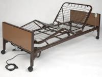 An economically priced, lightweight full electric bed