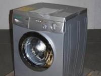 Basic white Amana washer and dryer for sale asking