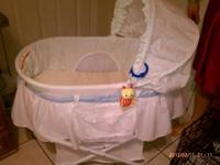 We have a very nice basinet that was probably used less