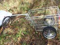 Basket Cart for Bike - call James @  or respond to