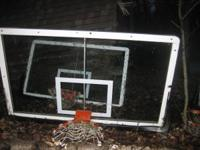 I have three 4 x 6 basketball backboards with hoops -