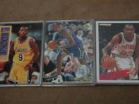 Nick Van Exel 93-94 Fleer Ultra All Rooki Series #14 of