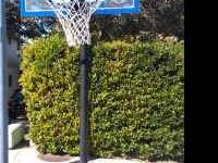 Basketball Goal - easily adjustable from 7.5' to 10' -