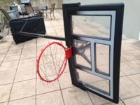 Portable Basketball Goal from Lifetime. 50inch steel