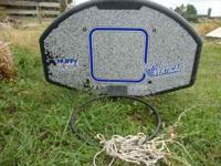 Huffy Basketball hoop and backboard. Ready for mounting