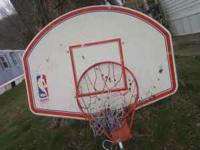Basketball hoop in excellent condition. comes with the